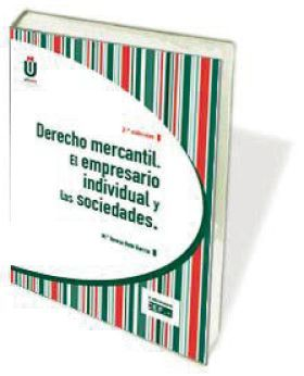 DERECHO MERCANTIL. EL EMPRESARIO INDIVIDUAL Y LAS SOCIEDADES