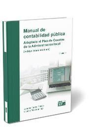MANUAL DE CONTABILIDAD PÚBLICA. ADAPTACIÓN AL PLAN DE CUENTAS DE LA ADMINISTRACIÓN LOCAL