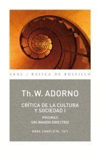 CRTICA DE LA CULTURA Y SOCIEDAD I OBRA COMPLETA, 10/1