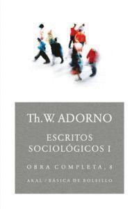 ESCRITOS SOCIOLÓGICOS I