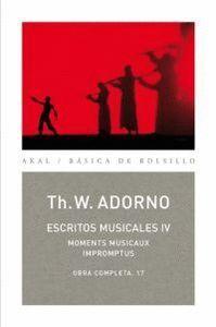 ESCRITOS MUSICALES IV OBRA COMPLETA, 17. MOMENTES MUSICAUX IMPROMPTUS