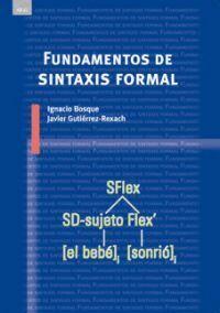 FUNDAMENTOS DE SINTAXIS FORMAL