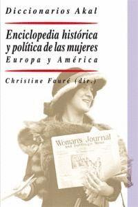ENCICLOPEDIA HISTÓRICA Y POLTICA DE LAS MUJERES EUROPA Y AMÉRICA