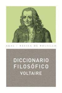 DICCIONARIO FILOSÓFICO VOLTAIRE