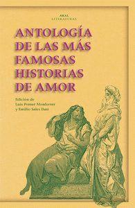 ANTOLOGA DE LAS MÁS FAMOSAS HISTORIAS DE AMOR