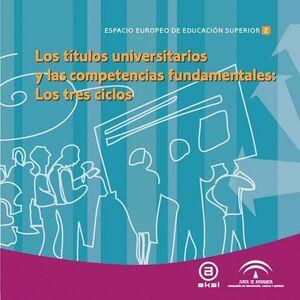 TTULOS UNIVERSITARIOS Y COMPETENCIAS FUNDAMENTALES