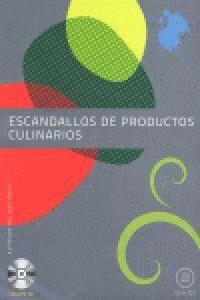 ESCANDALLOS DE PRODUCTOS CULINARIOS (INCLUYE CD)