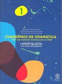 CUADERNOS GRAMATICA 1 MORFOLOGIA