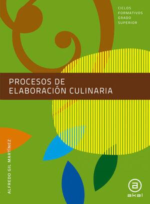 PROCESOS DE ELABORACIÓN CULINARIA. LIBRO DEL ALUMNO