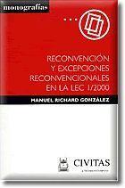 RECONVENCIÓN Y EXCEPCIONES RECONVENCIONALES EN LA LEC 1/2000
