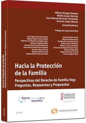 HACIA LA PROTECCIÓN DE LA FAMILIA - PERSPECTIVAS DEL DERECHO DE FAMILIA HOY: PREGUNTAS, RESPUESTAS Y PROPUESTAS
