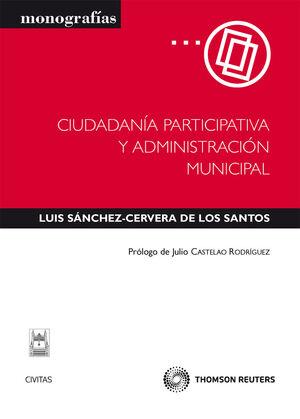CIUDADANA PARTICIPATIVA Y ADMINISTRACIÓN MUNICIPAL