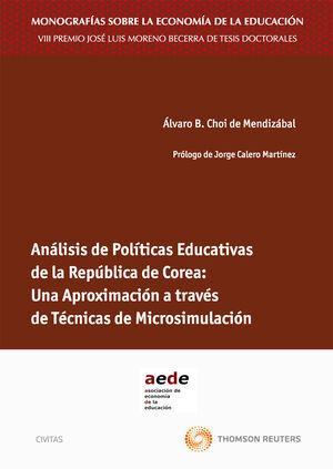 ANÁLISIS DE POLÍTICAS EDUCATIVAS DE LA REPÚBLICA DE COREA: UNA APROXIMACIÓN A TRAVÉS DE TÉCNICAS DE MICROSIMULACIÓN