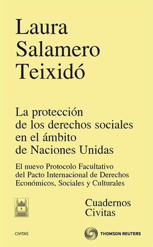 LA PROTECCIÓN DE LOS DERECHOS SOCIALES EN EL ÁMBITO DE NACIONES UNIDAS - EL NUEVO PROTOCOLO FACULTATIVO DEL PACTO INTERNACIONAL DE DERECHOS ECONÓMICOS