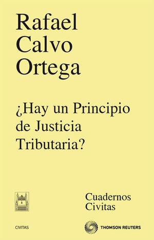 ¿HAY UN PRINCIPIO DE JUSTICIA TRIBUTARIA?