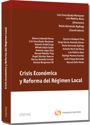 CRISIS ECONÓMICA Y REFORMA DEL RÉGIMEN LOCAL