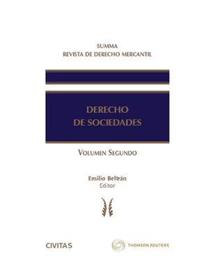 SUMMA REVISTA DE DERECHO MERCANTIL. DERECHO DE SOCIEDADES (TOMO III, VOL. II)