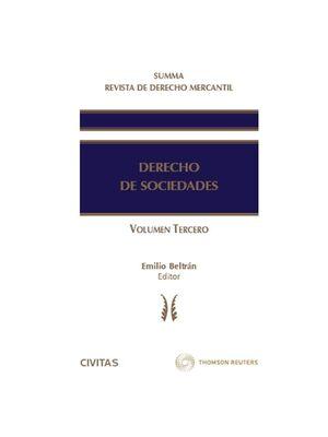 SUMMA REVISTA DE DERECHO MERCANTIL. DERECHO DE SOCIEDADES (VOL. III)