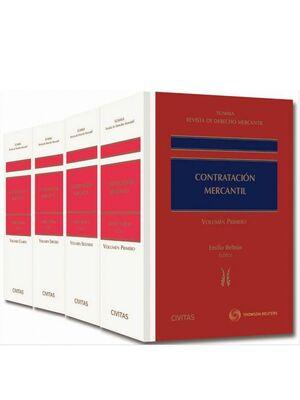 SUMMA REVISTA DE DERECHO MERCANTIL. CONTRATACIÓN MERCANTIL (4 TOMOS)