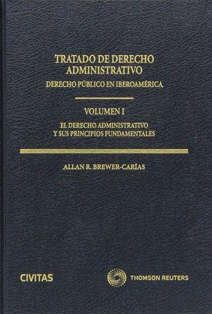 TRATADO DE DERECHO ADMINISTRATIVO ( 6 TOMOS ) DERECHO PÚBLICO EN IBEROAMÉRICA