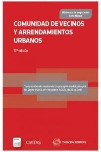 COMUNIDAD DE VECINOS Y ARRENDAMIENTOS URBANOS (PAPEL + E-BOOK)