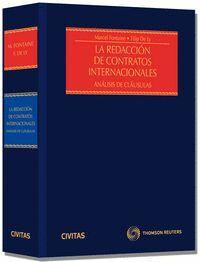 LA REDACCIÓN DE CONTRATOS INTERNACIONALES (PAPEL + E-BOOK) ANÁLISIS DE CLÁUSULAS
