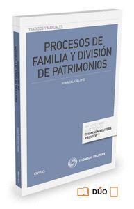 PROCESOS DE FAMILIA Y DIVISIÓN DE PATRIMONIOS (PAPEL + E-BOOK)