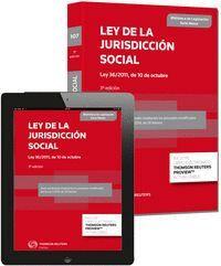 LEY DE LA JURISDICCIÓN SOCIAL (PAPEL + E-BOOK) LEY 36/2011, DE 10 DE OCTUBRE