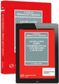 LEGISLACIÓN SOBRE COOPERATIVAS Y SOCIEDADES LABORALES (PAPEL + E-BOOK) DUO