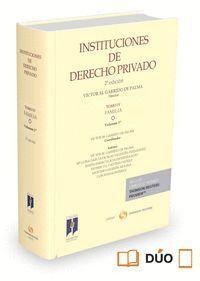 INSTITUCIONES DE DERECHO PRIVADO. TOMO IV FAMILIA. VOLUMEN 1º (PAPEL + E-BOOK)