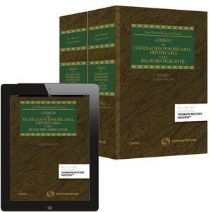 CÓDIGO DE LEGISLACIÓN INMOBILIARIA, HIPOTECARIA Y DEL REGISTRO MERCANTIL ( 2 TOMOS )
