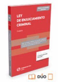 LEY DE ENJUICIAMIENTO CRIMINAL (PAPEL + E-BOOK) 13/2015, DE 5 DE OCTUBRE