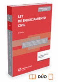 LEY DE ENJUICIAMIENTO CIVIL (PAPEL + E-BOOK) ACTUALIZADA 42/2015 DE 5 DE OCTUBRE