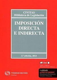 IMPOSICIÓN DIRECTA E INDIRECTA (PAPEL + E-BOOK)