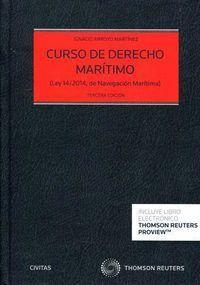 CURSO DE DERECHO MARTIMO (PAPEL + E-BOOK) LEY 14/2014, DE NAVEGACIÓN MARTIMA