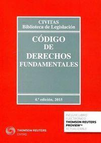 CÓDIGO DE DERECHOS FUNDAMENTALES (PAPEL + E-BOOK)