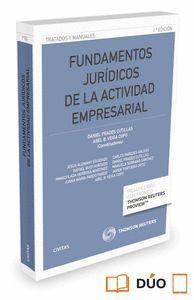 FUNDAMENTOS JURDICOS DE LA ACTIVIDAD EMPRESARIAL (PAPEL + E-BOOK)
