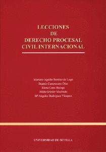LECCIONES DE DERECHO PROCESAL CIVIL INTERNACIONAL