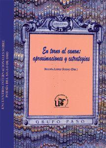 EN TORNO AL CANON: APROXIMACIONES Y ESTRATEGIAS