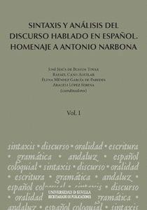 SINTAXIS Y ANÁLISIS DEL DISCURSO HABLADO EN ESPAÑOL