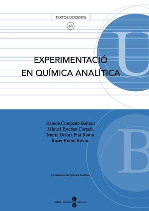 EXPERIMENTACIÓ EN QUÍMICA ANALÍTICA