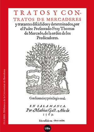TRATOS Y CONTRATOS DE MERCADERES Y TRATANTES DISCIDIDOS Y DETERMINADOS