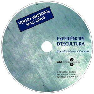 EXPERIÈNCIES D´ESCULTURA (CD-ROM). ESTRATÈGIES D´INNOVACIÓ DOCENT (WINDOWS, MAC, LINUX)