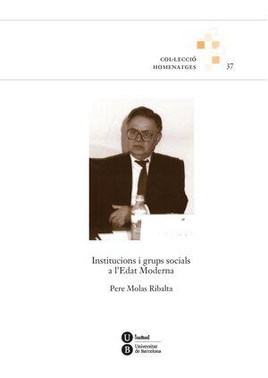 INSTITUCIONS I GRUPS SOCIALS A L'EDAT MODERNA