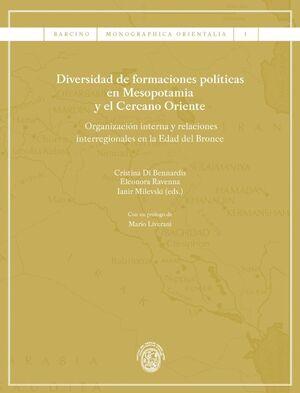 DIVERSIDAD DE FORMACIONES POLÍTICAS EN MESOPOTAMIA Y EL CERCANO ORIENTE