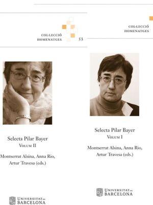 SELECTA PILAR BAYER. VOLUMS I I II