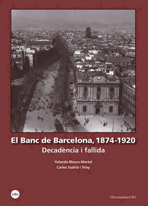 EL BANC DE BARCELONA, 1874-1920