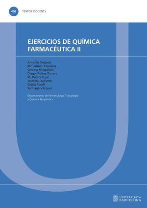 EJERCICIOS DE QUÍMICA FARMACÉUTICA II