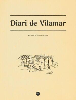 DIARI DE VILAMAR. EDICIÓ FACSÍMIL (1922)