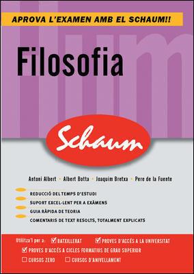 CUTR FILOSOFIA. COMENTARIOS TEXTO. SCHAUM (CATALAN)